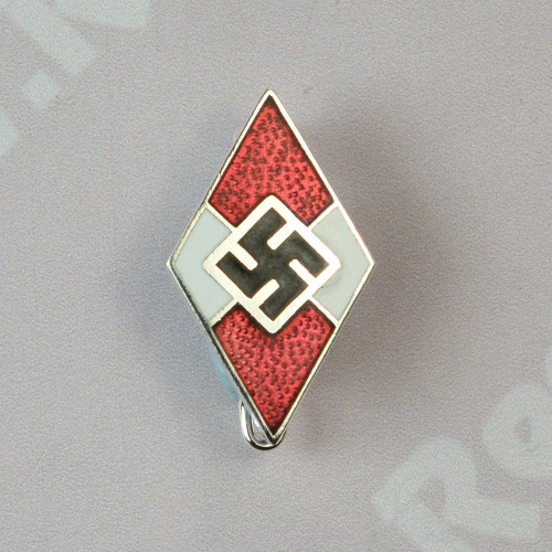 Hitler Youth Diamond Pin Back Regalia Company