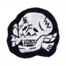 SS Officer Bullion Cap Skull - Type 2