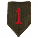 US Army 1st Infantry Division Cloth Patch