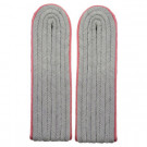 Waffen-SS Panzer Junior Officer Shoulder Boards (Pink Piped)