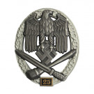 Numbered General Assault Badge - 25