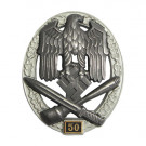 Numbered General Assault Badge - 50