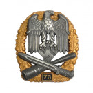 Numbered General Assault Badge - 75