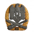 Numbered General Assault Badge - 100