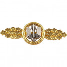 1957 Luftwaffe Long Range Day Fighter Clasp - Gold