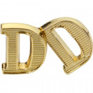 "D ""Deutschland"" Metal Shoulder Cypher - Gold"