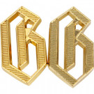 "G ""Germania"" Metal Shoulder Cypher - Gold"