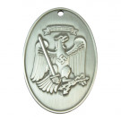 Prussian State Police Identification Tag - Silver