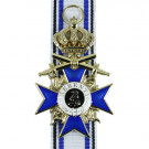 Bavarian Order of Military Merit With Crown and Swords - 3rd Class
