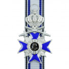 Bavarian Order of Military Merit With Crown and Swords - 4th Class