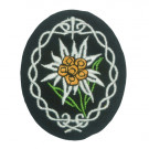 Edelweiss Cloth Badge