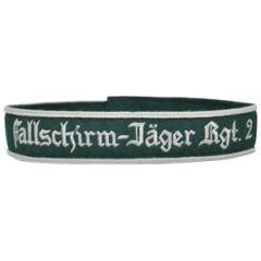 EM Fallschirm-Jager Rgt. 2 Cuff Title