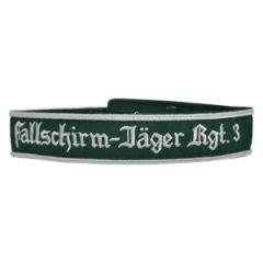 EM Fallschirm-Jager Rgt. 3 Cuff Title