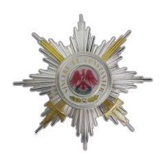 Order of the Red Eagle 1st class with Swords Breast Star-Thumbnail