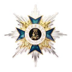 Bavarian Order of Military Merit 1st Class - Breast Star