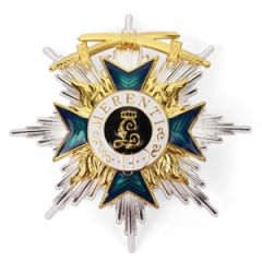 Bavarian Order of Military Merit 1st Class With Swords - Breast Star