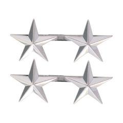 Miniature US Army Major General 2 Star Badge