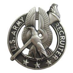 US Army Recruiter Badge