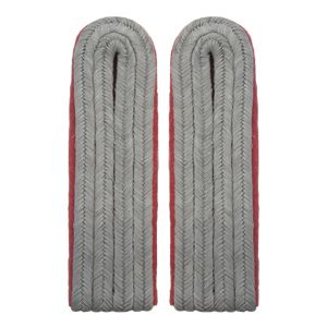 Army Panzer Junior Officer Shoulder Boards (Pink Piped)