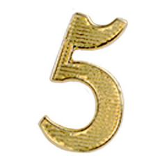 No. 5 Metal Cypher - Gold