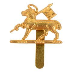 Queen's Royal Regiment (West Surrey) Cap Badge
