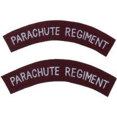 Modern Parachute Regiment Shoulder Titles