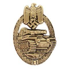 Army Panzer Assault Badge Stamped - Bronze