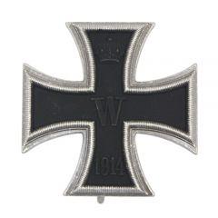 Vaulted 1914 Iron Cross 1st Class - Nickel Silver