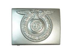 Waffen S.S. EM Silver Belt Buckle