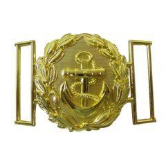 Kriegsmarine Officer Gold Belt Buckle