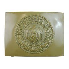 Army EM Tan Belt Buckle