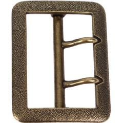 German Officer's Gold Double Claw Buckle