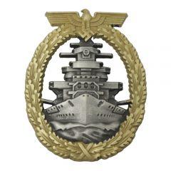 WW2 Kriegsmarine Fleet Badge