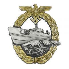 Kriegsmarine E-Boat Badge (2nd Pattern)