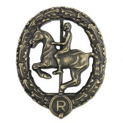 Horsemans Badge - Bronze
