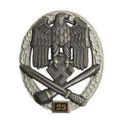 Numbered General Assault Badge - 25