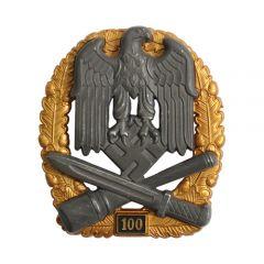 Numbered General Assault Badge - 100