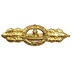 German U-Boat Clasp - Gold