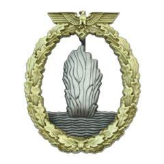 Kriegsmarine Minesweeper Badge