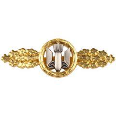 1957 Luftwaffe Bomber Clasp - Gold