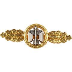 1957 Luftwaffe Short Range Day Fighter Clasp - Gold