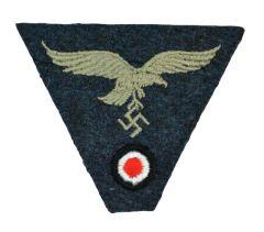 M43 Cap Eagle/Cockade Luftwaffe- Woven (LW Blue)