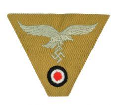 M43 Cap Eagle/Cockade Luftwaffe- Woven (Tan)