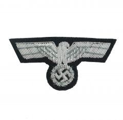 Army Panzer Officer Bullion Cap Eagle