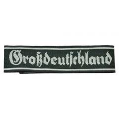 Army Grossdeutschland Cuff Title - Gothic Script