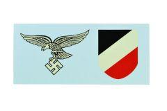 Early Luftwaffe Helmet Decals