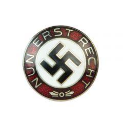 Nun Erst Recht Pin Badge