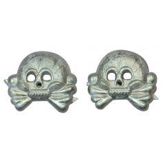 Panzer Metal Collar Skulls