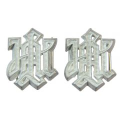 LAH Metal Cyphers for Shoulder Boards - Silver