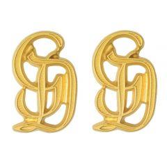 GD Metal Cyphers for Shoulder Boards - Gold